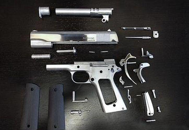 Preocupa a las autoridades el que esta arma está hecha de materiales difíciles de detectar. (blog Solid Concepts)