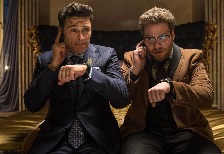 Escena del filme The Interview, cancelado por ser considerado un problema de seguridad nacional. (thenypost.files)