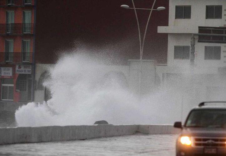 Los vientos del frente frío número 12 en Veracruz alcanzaron velocidades cercanas a los 100 kilómetros por hora, solo comparables con lo de una tormenta tropical. La imagen corresponde a Boca del Río. (NTX)