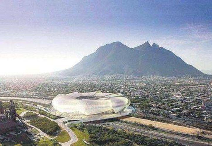 El nuevo estadio podría albergar espectáculos de futbol americano y partidos de grandes ligas.(Foto tomada de Milenio.com)