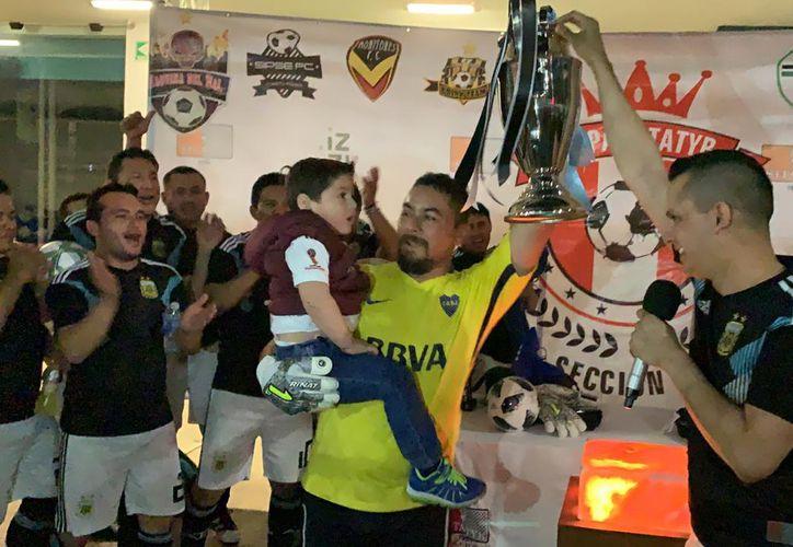 Es la segunda corona de Drink Team en la Copa Sitatyr Sección 4. (Fotos: Marco Moreno)
