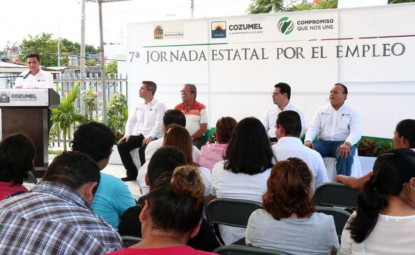 El evento tuvo lugar en el Colegio Nacional de Educación Profesional Técnica. (Cortesía/SIPSE)