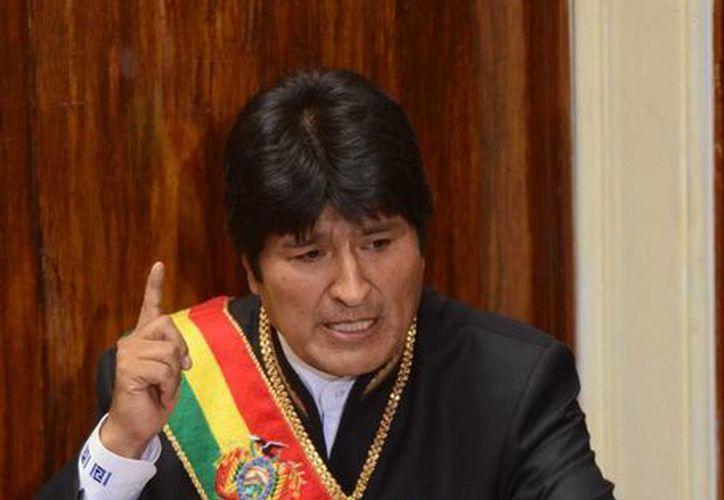Morales asegura que su país pasa por un momento importante gracias a los cambios profundos que se están implementando. (Archivo/Notimex)