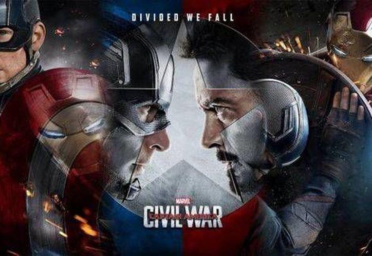 La película de superhéroes ha creado gran expectativa entre sus aficionados, quienes abarrotaron los cines el día del estreno.(Foto tomada de Marvel)