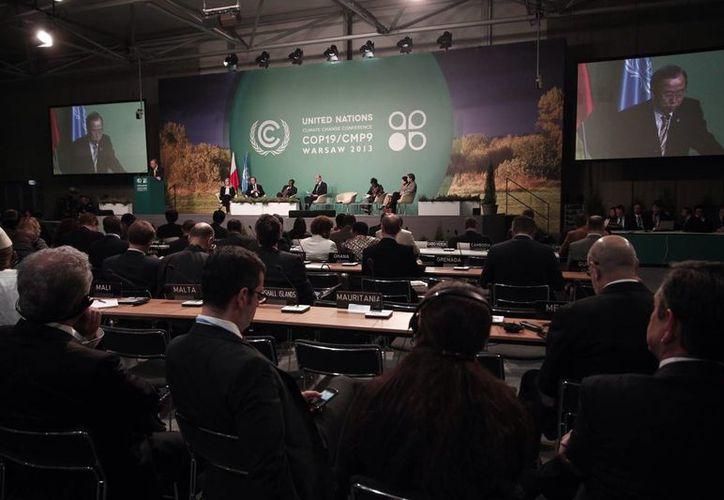 Las ONG que se retiraron de la conferencia climática de la ONU pretenden presionar a los gobiernos a que tomen decisiones 'adecuadas'. (Notimex)