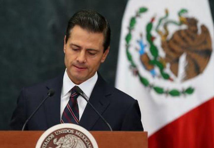 El presidente Enrique Peña Nieto refrendó, su confianza en el TLCAN. (El Financiero)