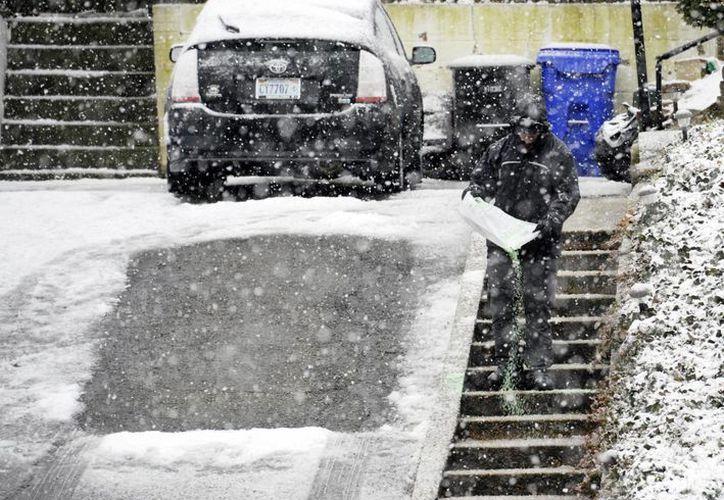 La tormenta afecto a millones de personas en los Estados Unidos. (Agencias)