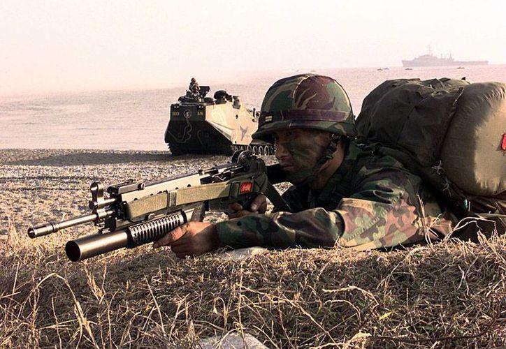 Aún no hay una versión oficial de tiroteo en el que un soldado de Corea del Sur mató a 5 de sus compañeros. La imagen es de contexto. (Archivo/wikipedia.org)