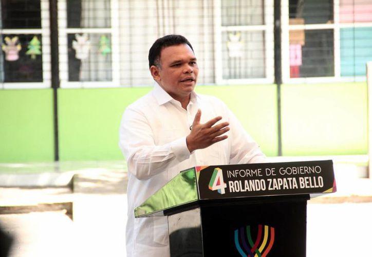 En Yucatán, la confianza de los inversionistas se ratifica y amplía, resaltó el mandatario en su Informe. (Jorge Acosta/Milenio Novedades)