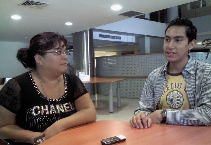 Milton López Robles, en una entrevista exclusiva para Sipse.com. (Redacción/SIPSE)