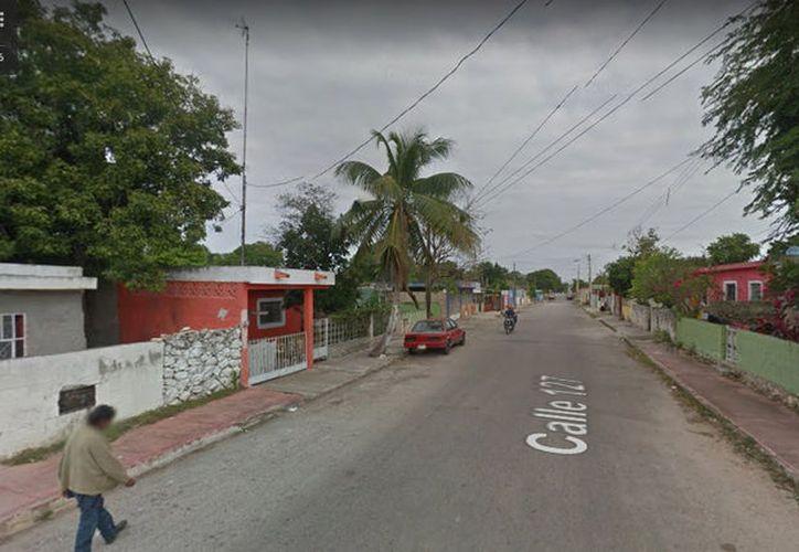 Las agresiones se presentaron en un predio de calle 127  entre 46, de la colonia San José Tecoh.  (Google Maps)