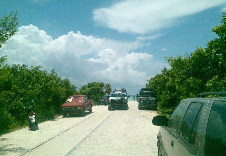 Un corredor fue víctima de un amante de lo ajeno en la playa de Punta Esmeralda.  (Redacción/SIPSE)