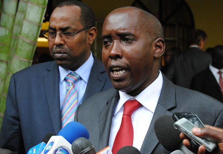 El político opositor y exgeneral del ejército Joseph Nkaissery reemplazará al ministro del Interior de Kenia, Ole Lenku (foto). (thepeople.co.ke)