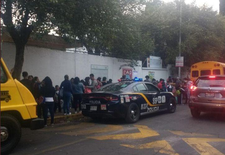 El regreso a clases de más de dos millones de estudiantes causó caos vehicular. (Twitter @SSP_CDMX)