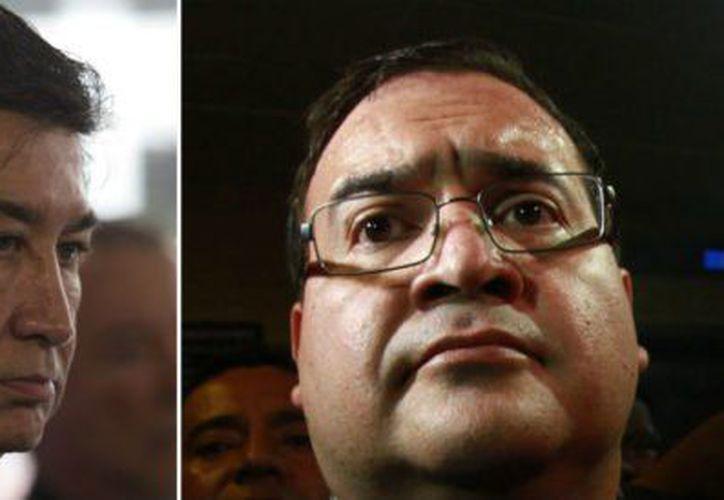 Las autoridades investigan un audio en el que presuntamente se escucha que la administración de Javier Duarte, desvió dinero público para la campaña de Héctor Yunes. (Foto: Aristegui Noticias)