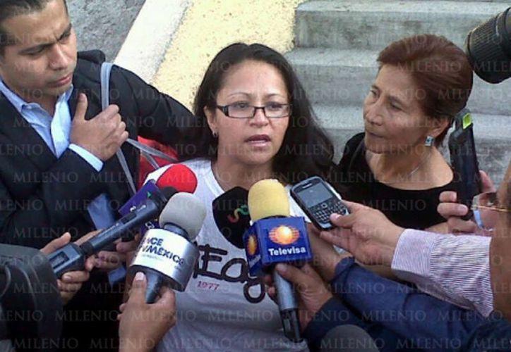 La mujer permaneció un año en el penal de Santa Martha Acatitla y fue liberada el sábado pasado. (Milenio)