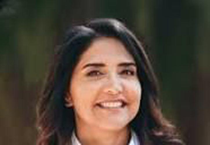 Alejandra Barrales, candidata del PRD, PAN y MC. (Foto: Internet)