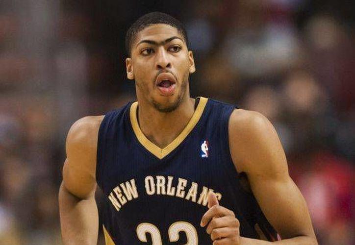 Davis se ha convertido en la figura de los Pelicans, al promediar 20 puntos y 10 rebotes por partido. (Foto: USA Today)