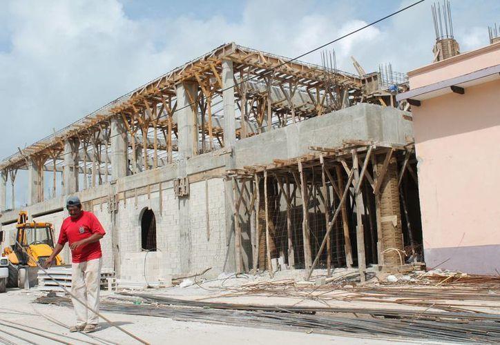 En la segunda etapa de la obra se invertirán aproximadamente 21 millones de pesos. (Carlos Horta/SIPSE)