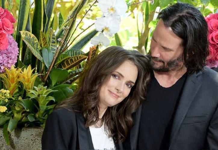 Winona Ryder y Keanu Reeves han sido pareja en cuatro películas. (Getty Images)