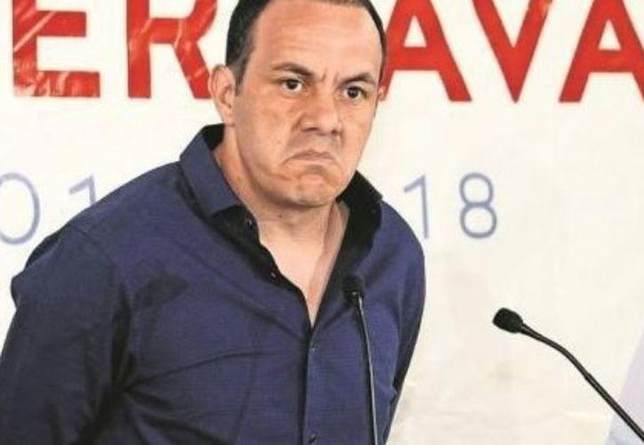 Cuauhtémoc, quien primero fuera electo como alcalde de Cuernavaca, aceptó ir por la candidatura del Estado de Morelos. (Foto: Contexto/Internet).