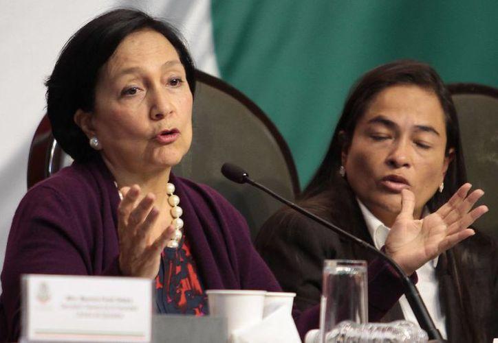 La exgobernadora de Zacatecas, Amalia García, dijo que si el partido no cambia, habrá muchos militantes que reconsiderarán su permanencia en el partido. (Archivo/Notimex)