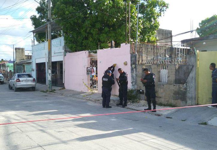 El domicilio de las víctimas se ubica en la manzana 115, entre las calles 129 y 26. (Redacción/SIPSE)