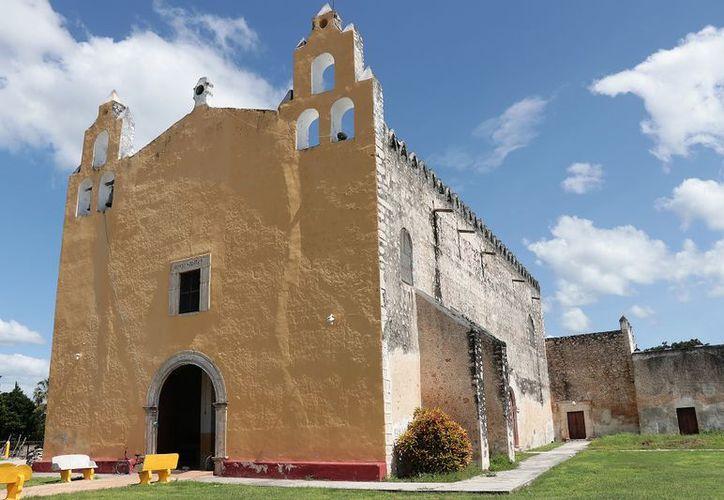 La iglesia de Suma de Hidalgo, dedicada a San Bartolomé