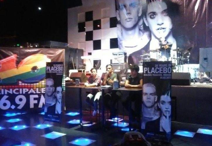 La banda inglesa Placebo se presentará la noche del 25 de marzo en el Coliseo Yucatán. (Marimar Boeta/SIPSE)