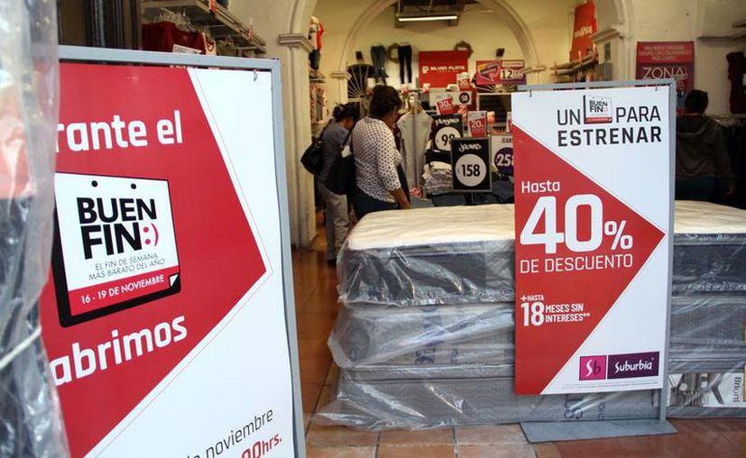 La décima edición de El Buen Fin 2020 se celebrará por casi dos semanas para impulsar el consumo. (Novedades Yucatán)