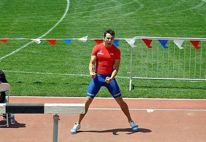 El mexicano (foto) hizo un salto de 8.09 metros; Zarck Visser fue primero de la competencia con 8.32 m, seguido de su compatriota Godfrey Mokoena con 8.11 m. (mediotiempo.com)