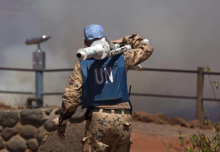 Naciones Unidas informó que están haciendo todo esfuerzo por garantizar la liberación de los pacificadores detenidos. (EFE)