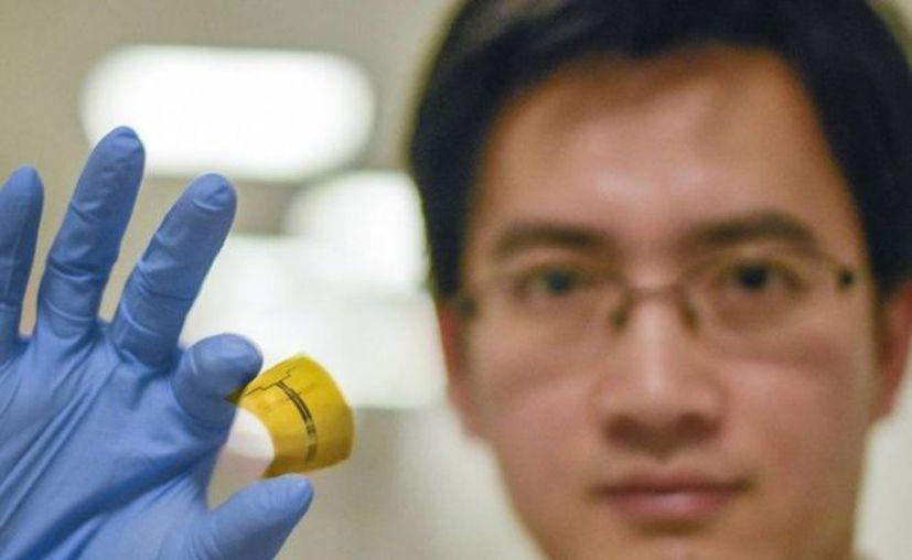 Un nuevo tipo de rectenna usa una antena de radiofrecuencia para capturar las ondas electromagnéticas. (Foto: MIT)
