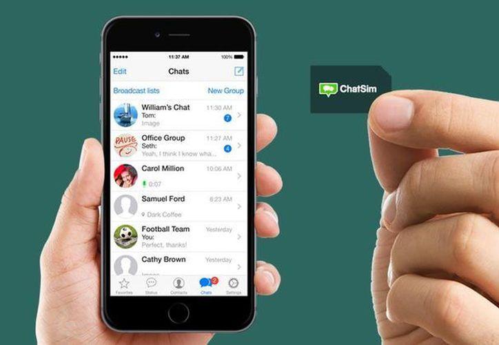 Cuando una persona viaja, puede colocar el ChatSim, que permitirá usar las aplicaciones de mensajería. (Foto: Contexto/Internet)