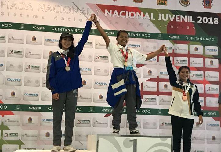 Ocupó Brisa Mena el primer lugar en la competencia. (Ángel Villegas/SIPSE)