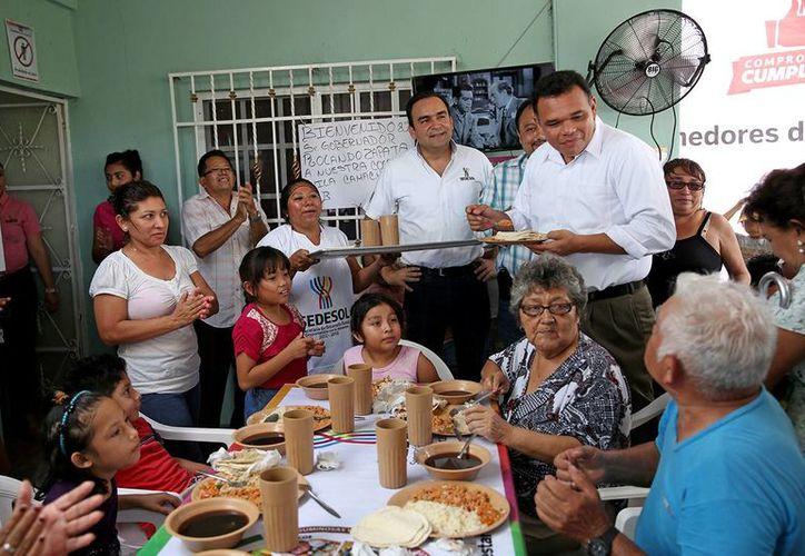 El gobernador Rolando Zapata Bello tiene en su agenda de este miércoles diversas actividades. (SIPSE)