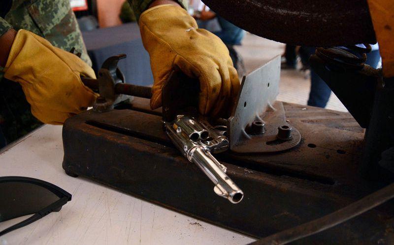 Ejército Instala Módulos De Registro Y Canje De Armas En