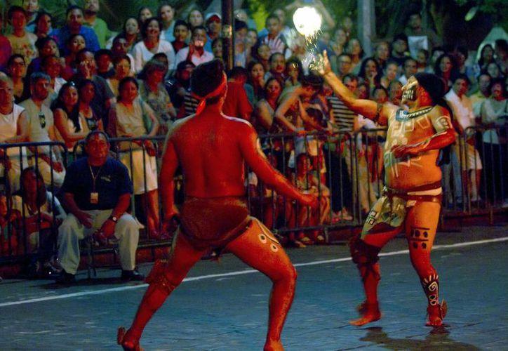 Entre los mayas el juego de pelota era considerado un ritual. (Notimex)