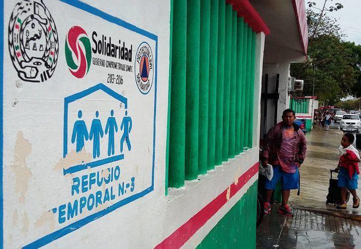 En el municipio de Solidaridad hay 50 refugios anticiclónicos garantizados. (Daniel Pacheco/SIPSE)