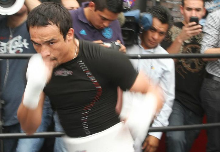 Para Juan Manuel Marquez, lo de Manny Pacquiao es capítulo cerrado. (Archivo Notimex)