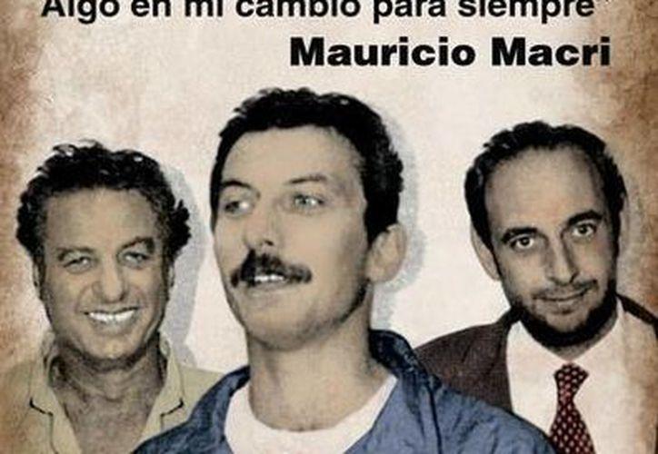 Portada del libro en el que se narra el secuestro que, en 1991, vivió el hoy presidente de Argentina, Mauricio Macri. (El Clarín)