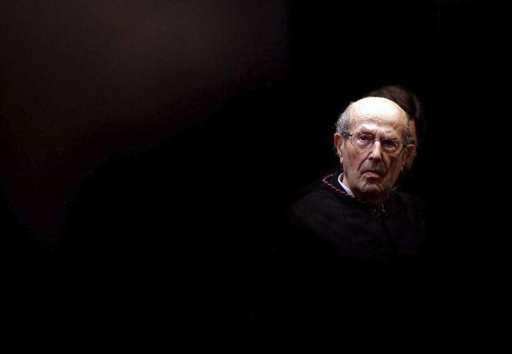Manuel de Olveira es considerado un cineasta de culto en Europa y Brasil. (EFE)