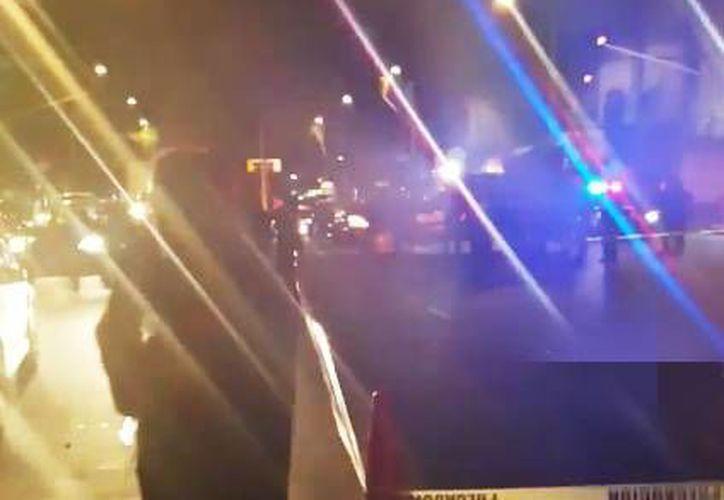 Muere hombre atropellado en Fray Servando y clavijero, en la Ciudad de México en la madrugada de este viernes. (@OpEsMx)