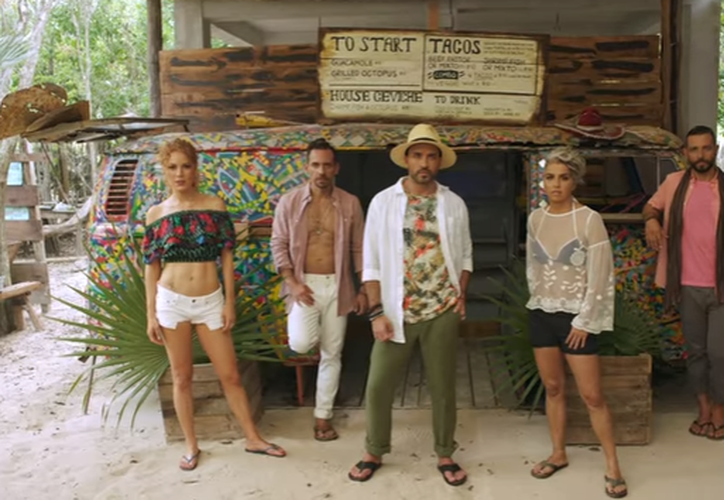 El nuevo video de Kabah fue grabado en Tulum. (Captura Youtube).