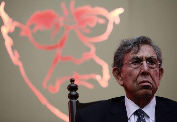 El pleito entre Cuauhtémoc Cárdenas y Carlos Navarrete provocó que el primero presentara su renuncia al PRD. (Archivo/Notimex)