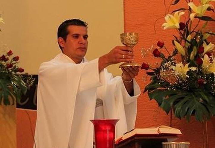 Santiago Álvarez Figueroa, sacerdote de la diócesis de Zamora, Michoacán. (Milenio)