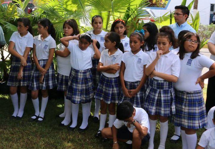 Las actividades escolares concluyen el 15 de julio. (Irving Canul/SIPSE)