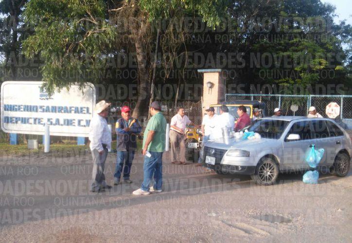 Los productores exigen  el pago de remanentes, por el corte de caña de la Zafra 2016-2017. (Foto: Carlos Castillo)