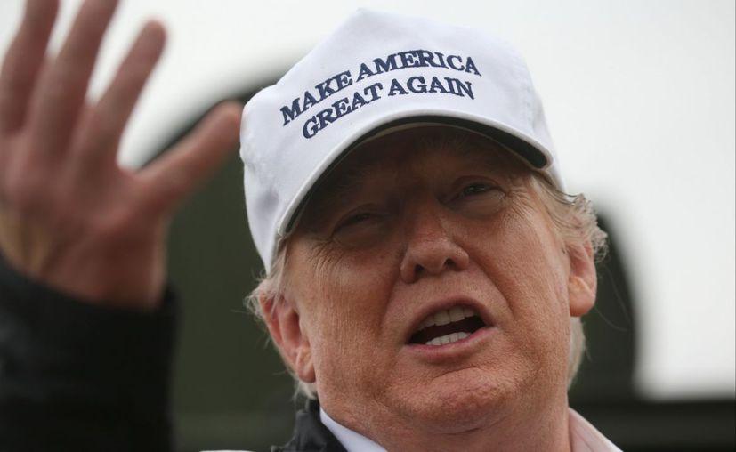 El presidente de Estados Unidos, Donald Trump, dijo este viernes que planea cambios en las visas 'H1-B',  (El Financiero)