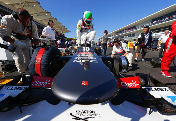 La llegada de Sergio Pérez a la F1, un gran detonante para su regreso a México. (Foto: Agencias)
